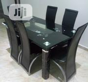 Peak Glass Top Dinning Table Set Comes With Thick Tempered Glass T | Furniture for sale in Lagos State, Agboyi/Ketu