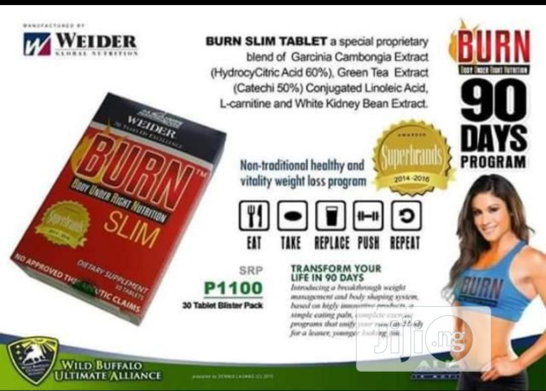 Burn Slim(Aimglobal) | Vitamins & Supplements for sale in Lagos Island (Eko), Lagos State, Nigeria