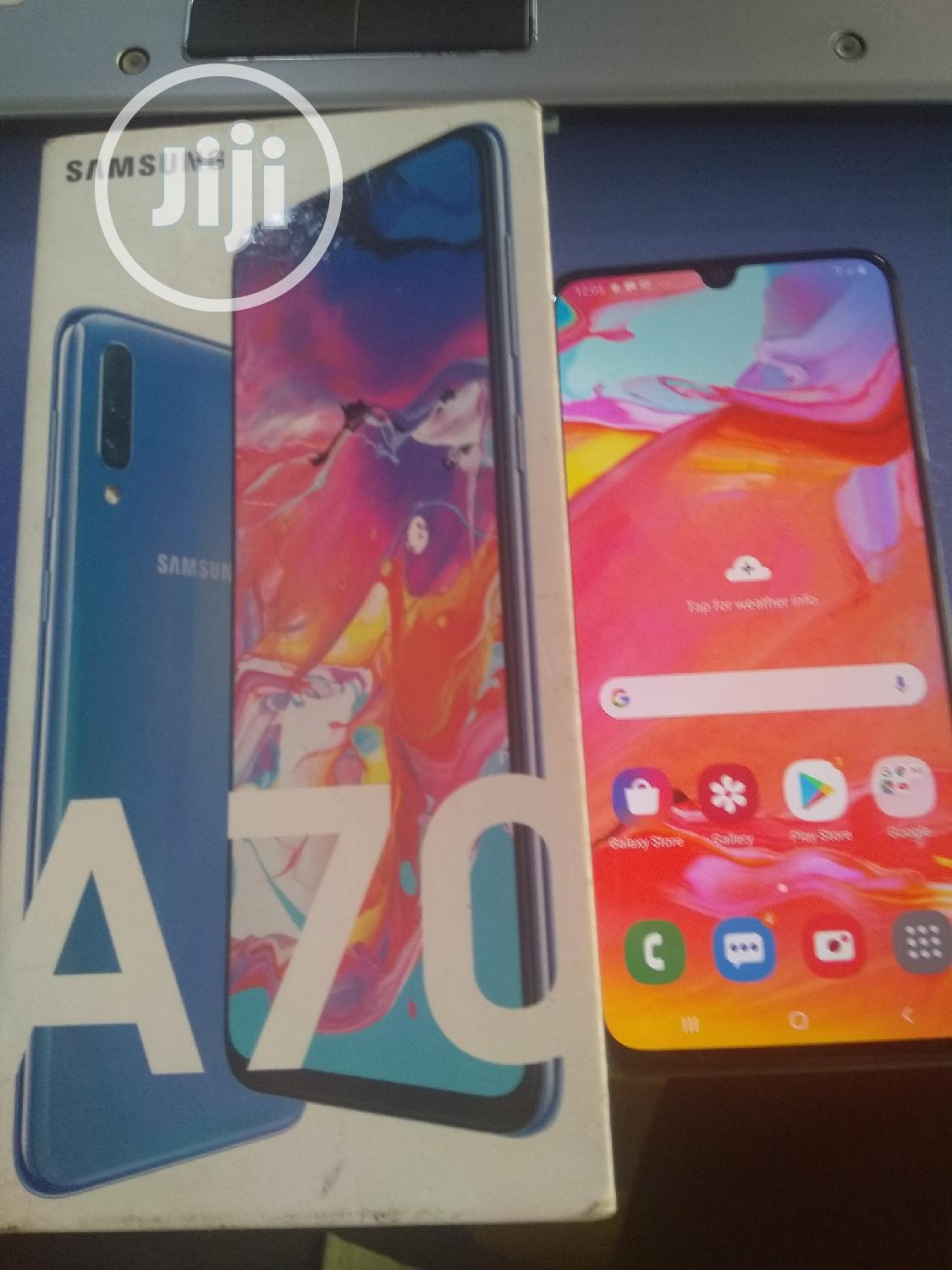 Samsung Galaxy A70 128 GB Blue | Mobile Phones for sale in Wuse 2, Abuja (FCT) State, Nigeria