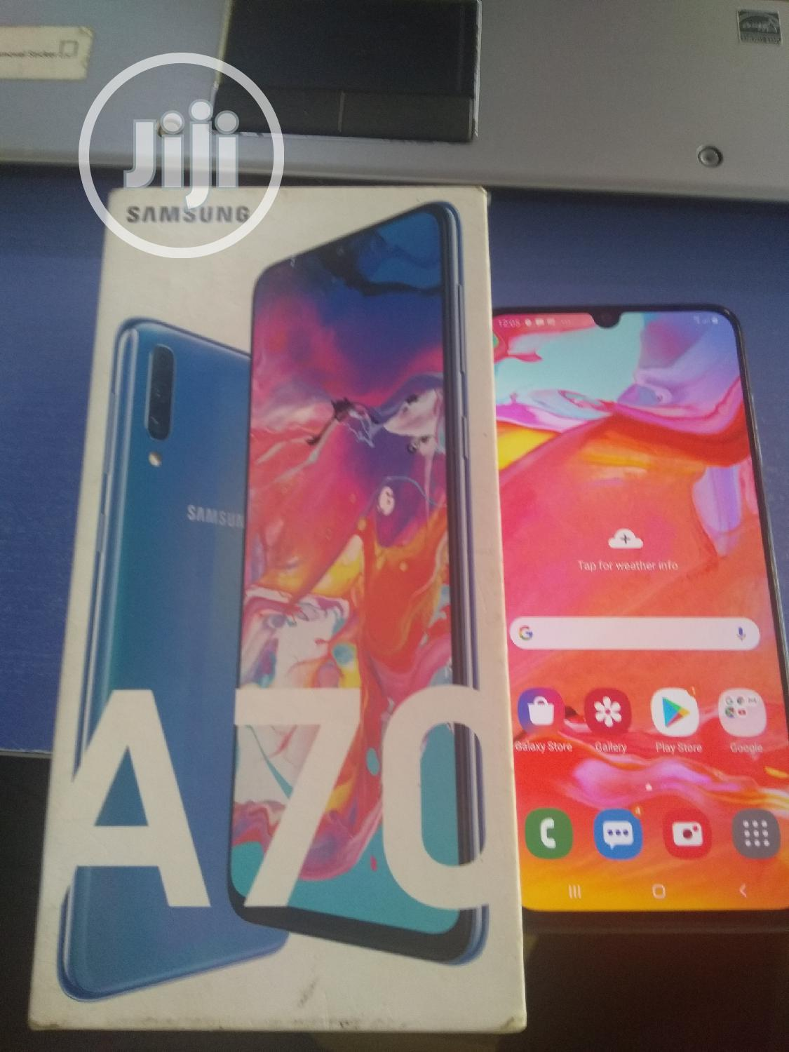 Samsung Galaxy A70 128 GB Blue