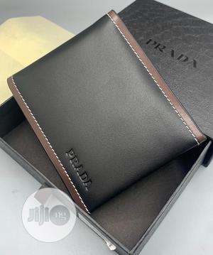 Prada Leather Wallet Brown | Bags for sale in Lagos State, Lagos Island (Eko)
