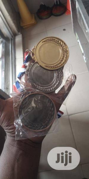Award Medal Gold Silver And Bronze   Arts & Crafts for sale in Lagos State, Ikeja