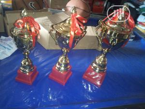 Set Of Small Gold Trophy By 3   Arts & Crafts for sale in Lagos State, Ikeja