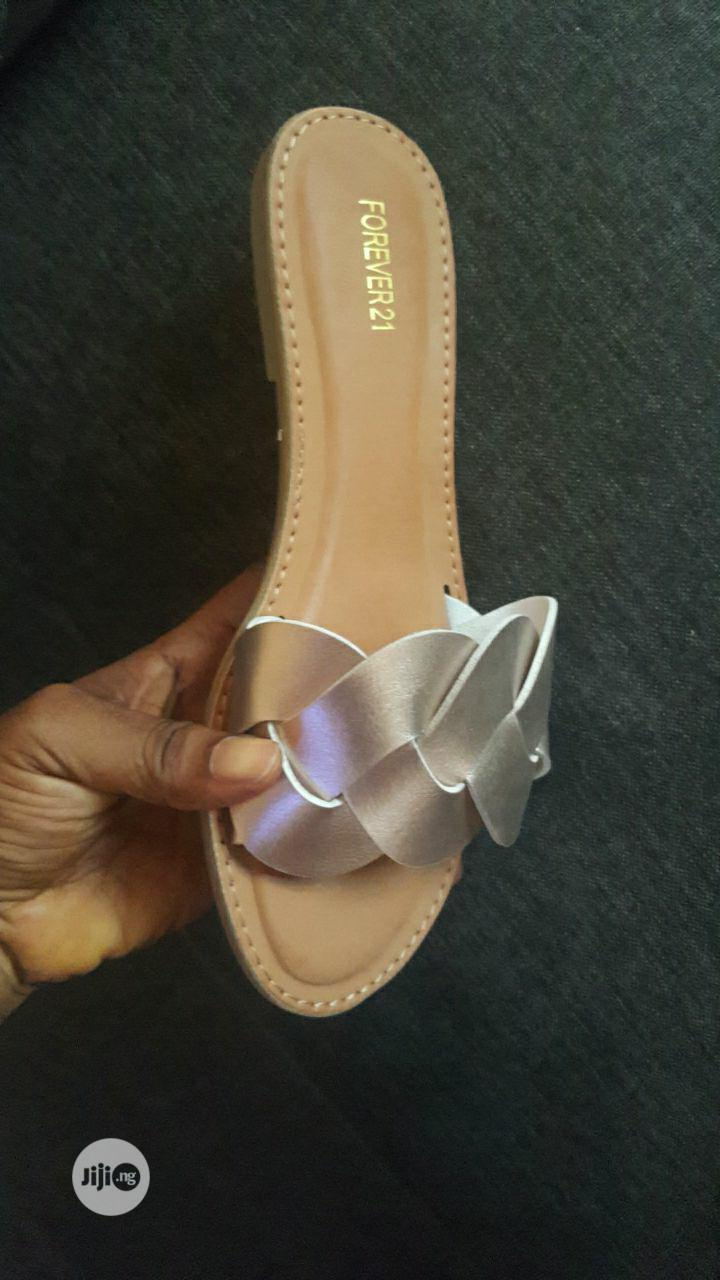 Forever21 Slipper | Shoes for sale in Alimosho, Lagos State, Nigeria