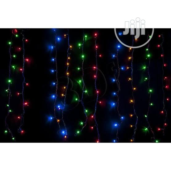 Chrismas Rainbow Diwali Firefly Rice Led Lights Chain For Party