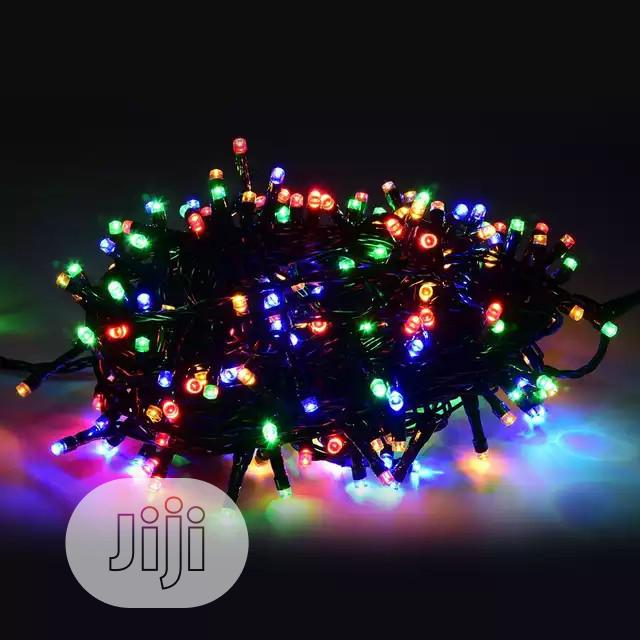 Chrismas Rainbow Diwali Firefly Rice Led Lights Chain For Party | Home Accessories for sale in Ojo, Lagos State, Nigeria