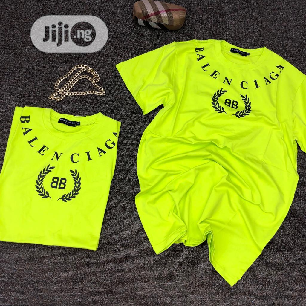 Original Balenciaga Roundneck T-Shirt Available