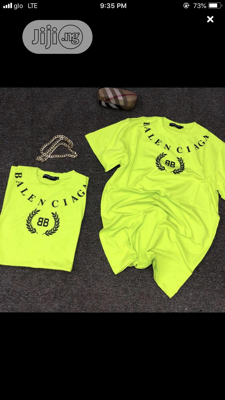 Original Balenciaga Roundneck T-Shirt Available | Clothing for sale in Lagos Island (Eko), Lagos State, Nigeria