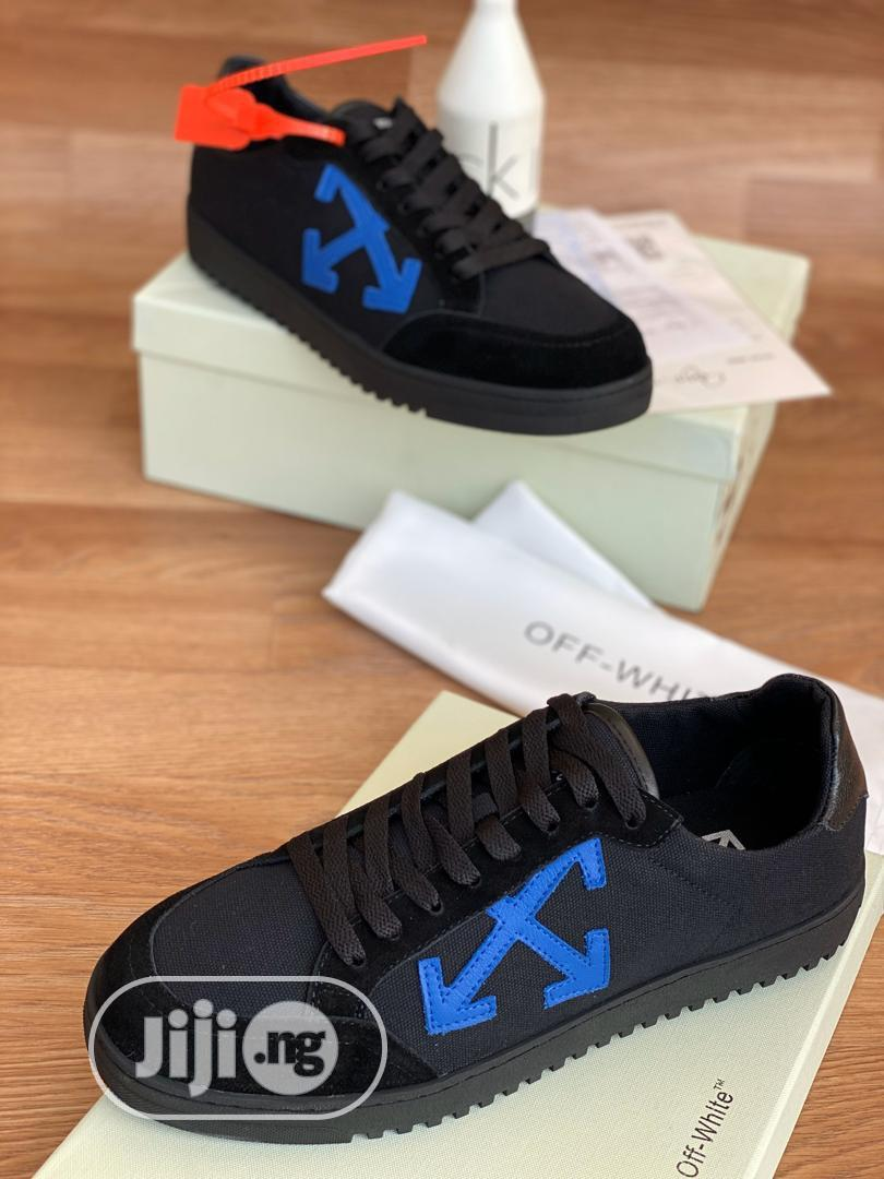 Offwhite Black Sneakers Available