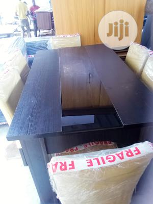 Dinning Chair Six With Middle Glass Table | Furniture for sale in Lagos State, Oshodi