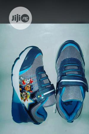 Blue Paw Patrol Canvas Sneakers   Children's Shoes for sale in Lagos State, Lagos Island (Eko)