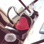 Red Heart Shaped Transparent Bag With Inner | Bags for sale in Lagos State