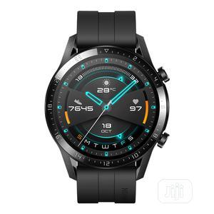 Huawei Wireless Bluetooth Smartwatch Gt2 46mm - Matt Black   Smart Watches & Trackers for sale in Lagos State, Ikeja