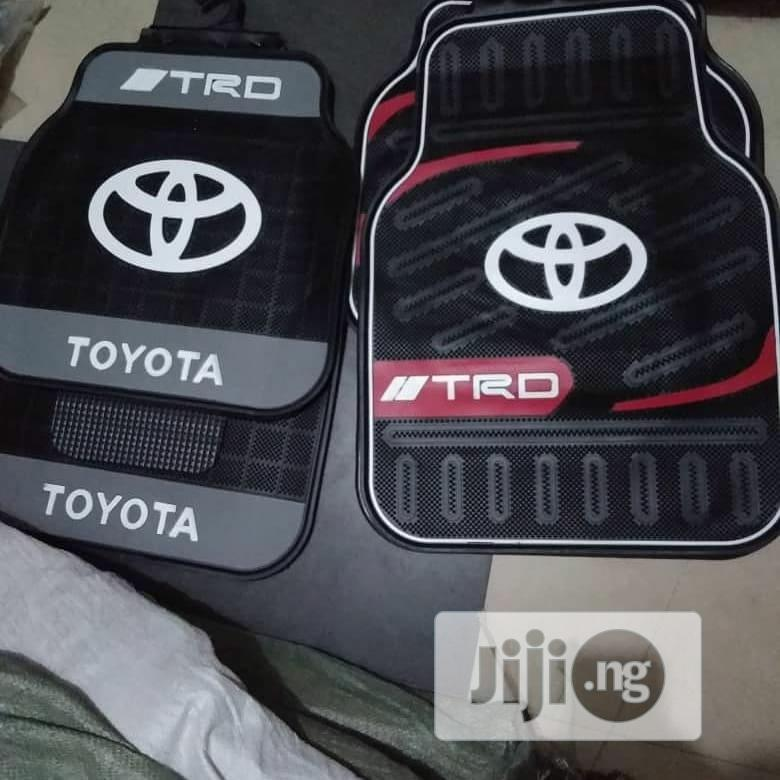 Archive: Toyota Car Footmats