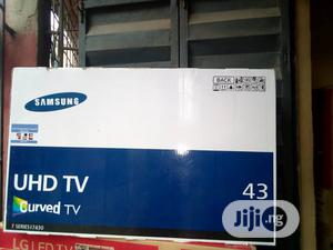 Samsung 43inches Curve Tv | TV & DVD Equipment for sale in Lagos State, Apapa