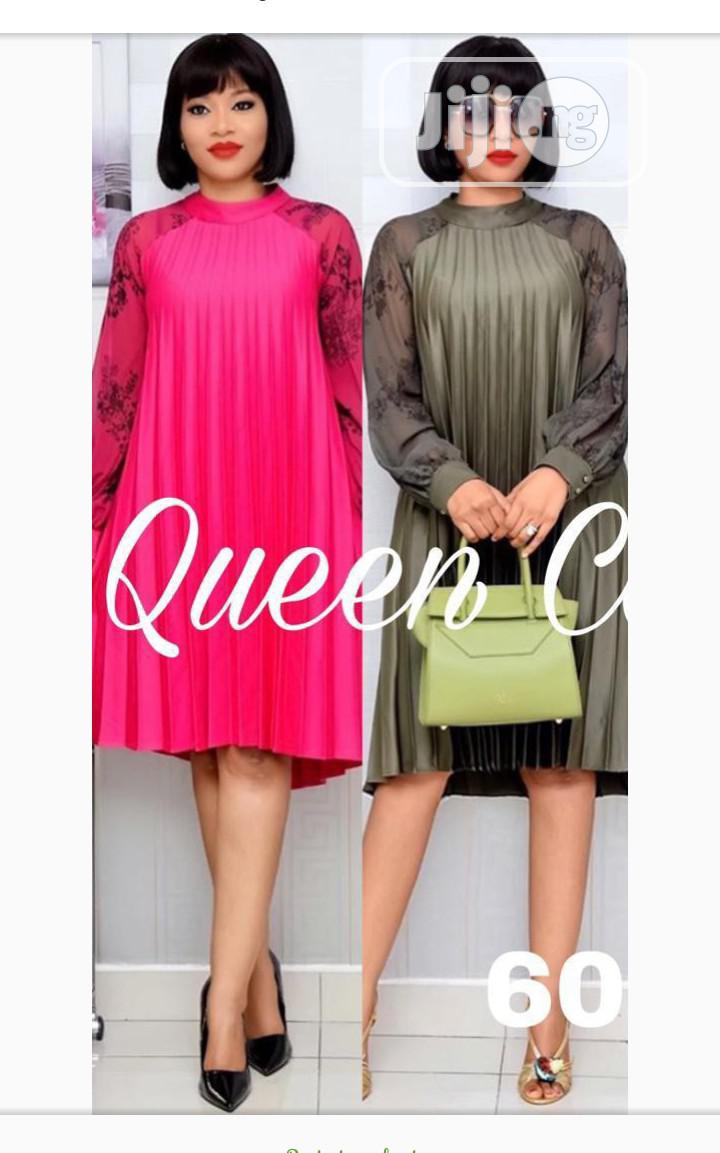 Quality Ladies Pleated Gown | Clothing for sale in Ikoyi, Lagos State, Nigeria