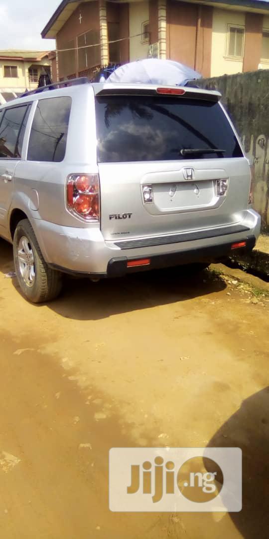 Honda Pilot 2010 Gray   Cars for sale in Isolo, Lagos State, Nigeria