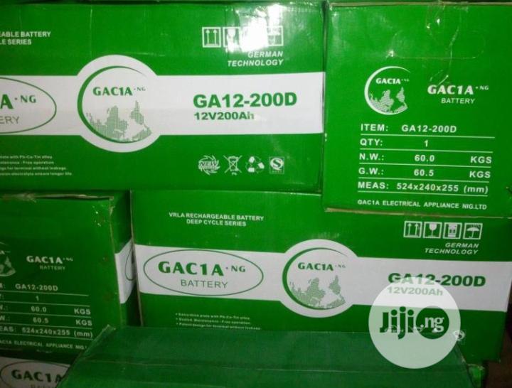 Archive: 200ah Garcia Battery