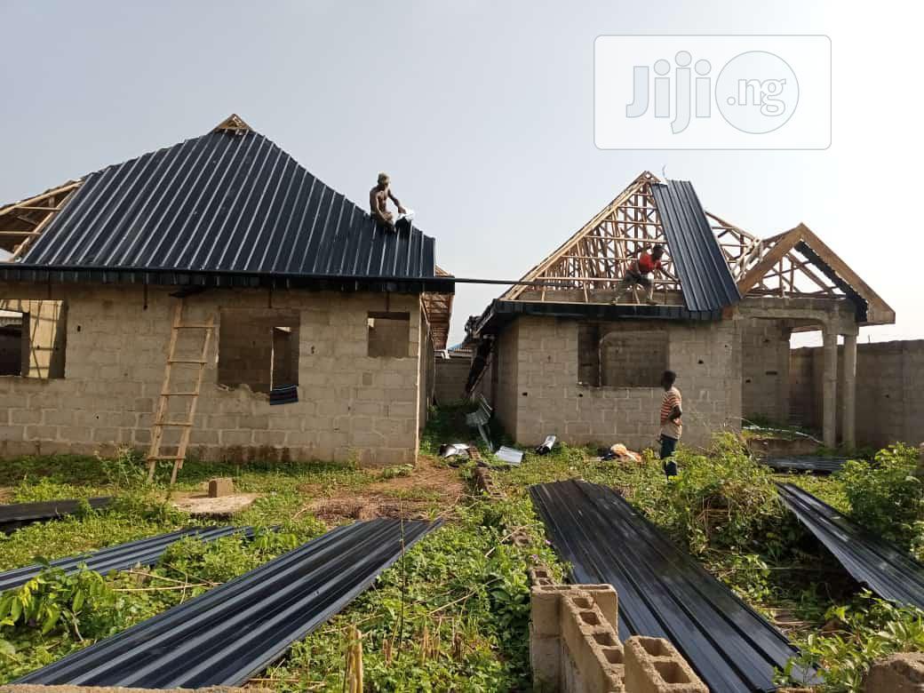 Long Span Aluminum Roofing B.S.Global Work