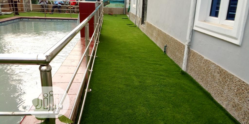Pool Environment With Artificial Grass