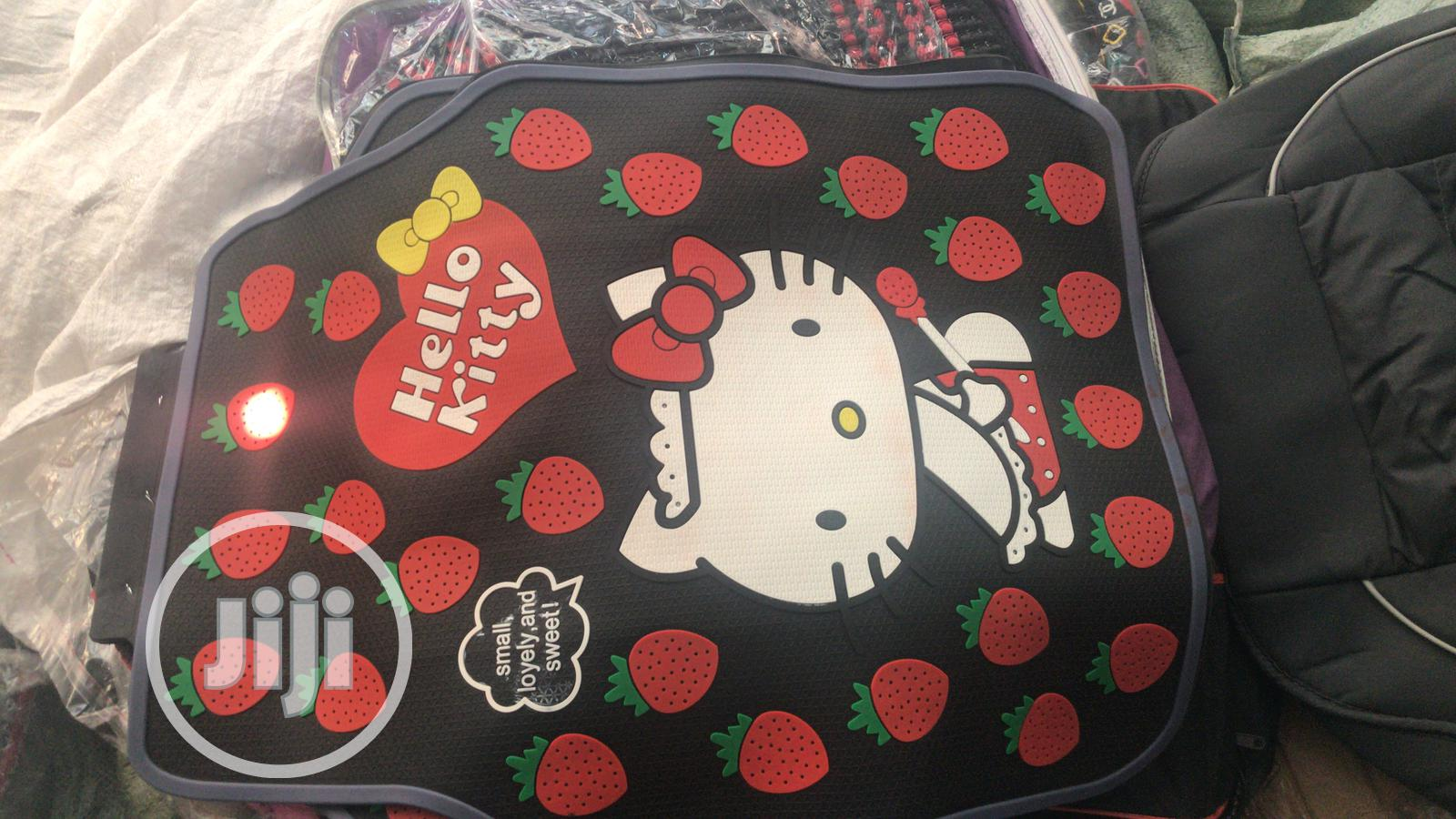 Archive: Hello Kitty Foot Mat And Steering Cover