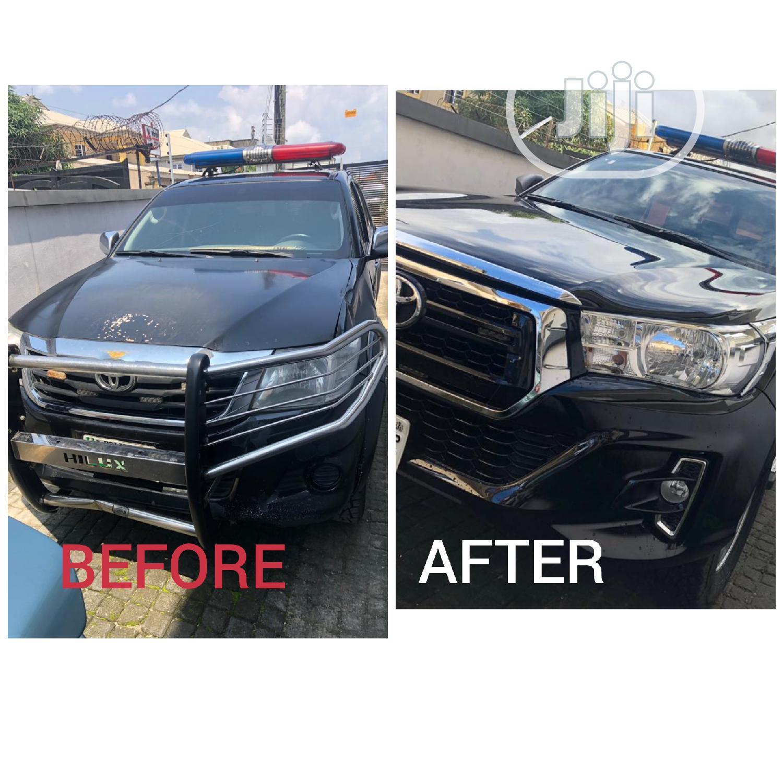 Toyota Hilux Upgrade