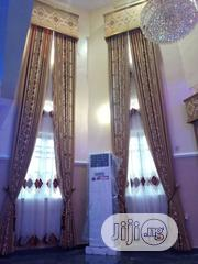 Long Design Turkish Curtain With Board | Home Accessories for sale in Lagos State, Lagos Island