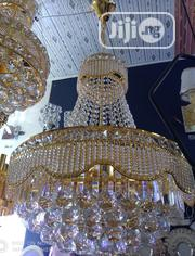 Crystal Chandelier Light Gold With LED Bulbs | Home Accessories for sale in Abuja (FCT) State, Central Business Dis