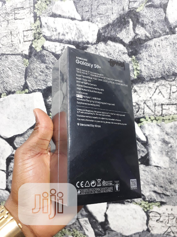 New Samsung Galaxy S9 Plus 256 GB Black | Mobile Phones for sale in Ikeja, Lagos State, Nigeria