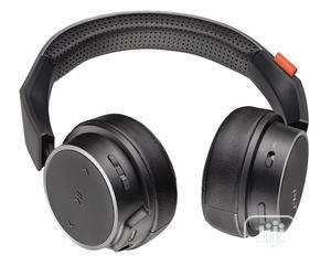Plantronics Backbeat 500 Wireless On-ear Sport Headphones - Black | Headphones for sale in Lagos State, Ikeja