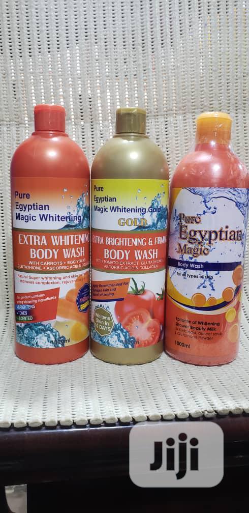 Pure Egyptian Extra Whitening Magic Body Wash | Bath & Body for sale in Amuwo-Odofin, Lagos State, Nigeria