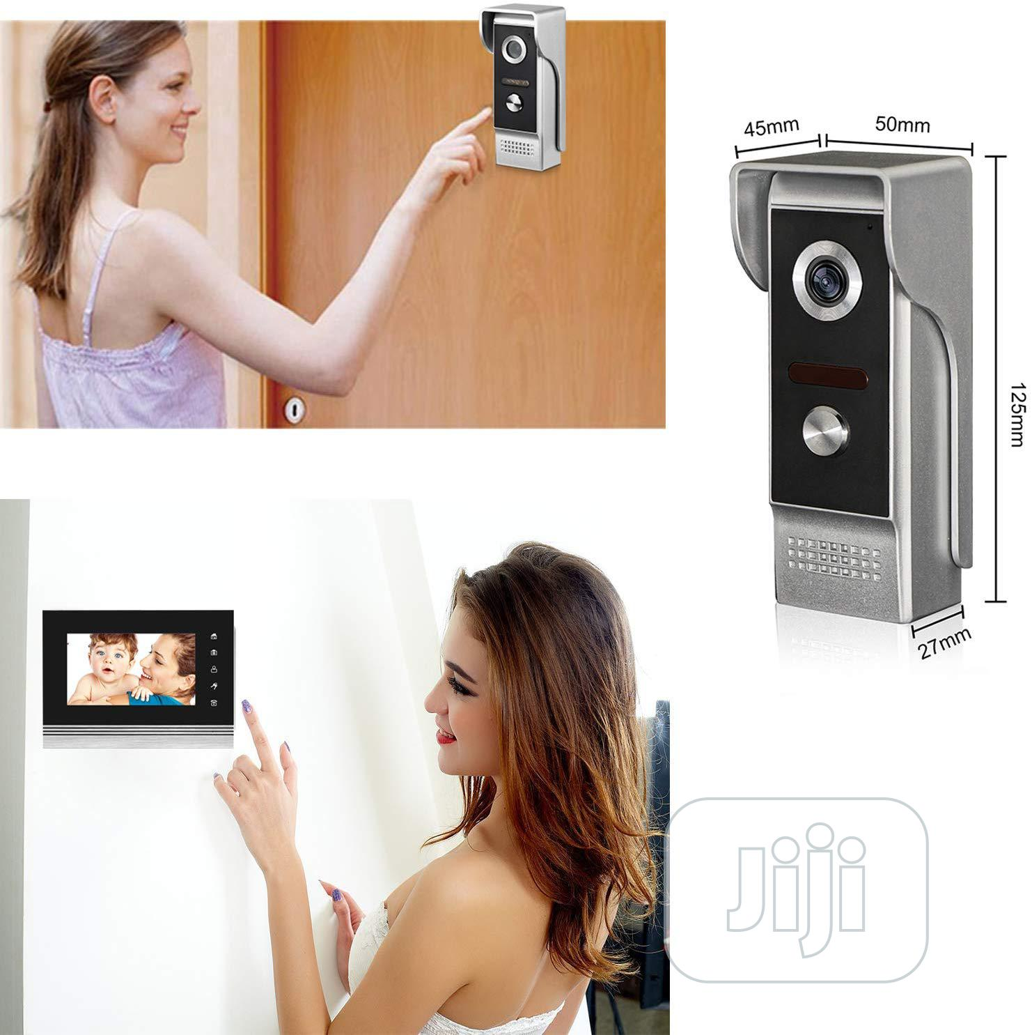 Video Doorbell Intercom Wired Doorphoe 1 Camerawith3 Monitor | Home Appliances for sale in Ikeja, Lagos State, Nigeria