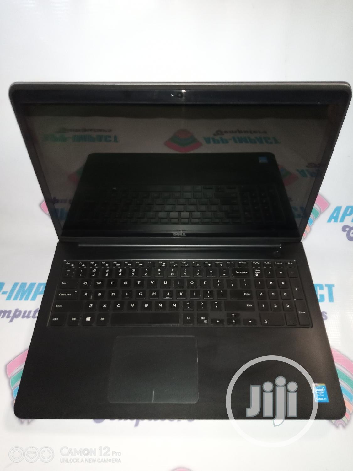Laptop Dell Inspiron 15 5548 8GB Intel Core i7 HDD 500GB | Laptops & Computers for sale in Mushin, Lagos State, Nigeria