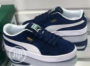 """Puma Suede Skate Sneakers """"Blue/Black/Grey"""" 