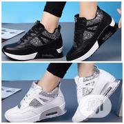 Sneakers Black And White | Shoes for sale in Lagos State, Ajah