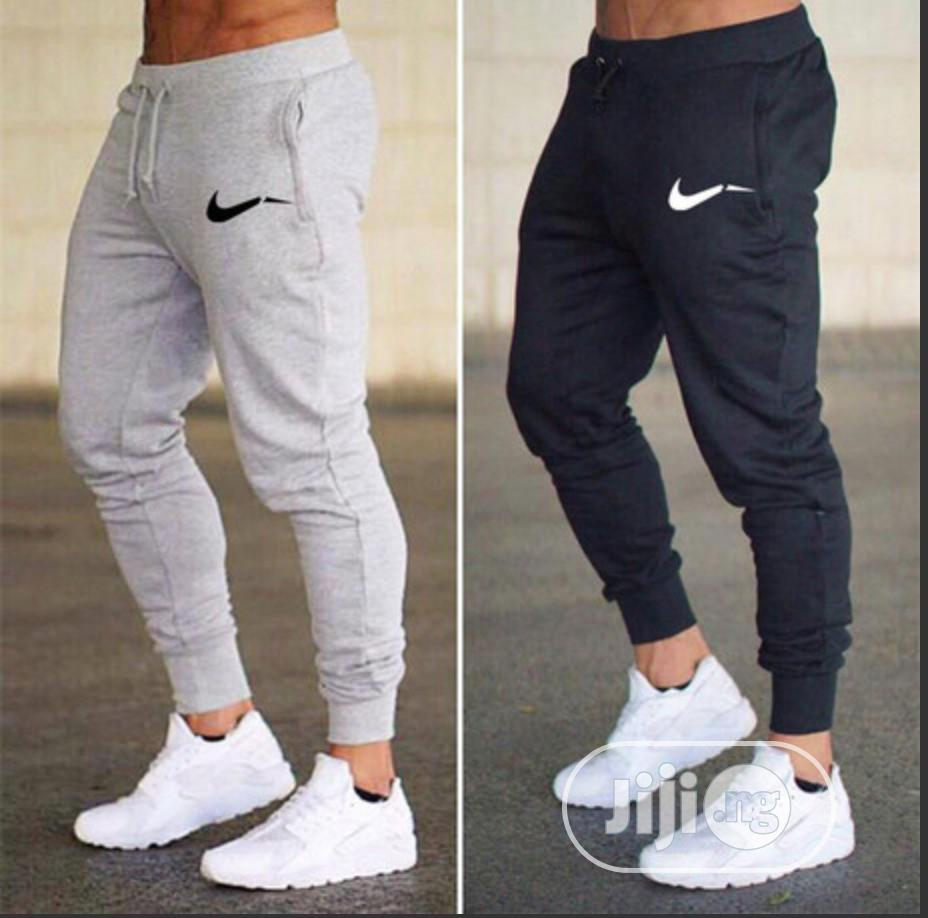 Joggers Trousers With Nike Logo