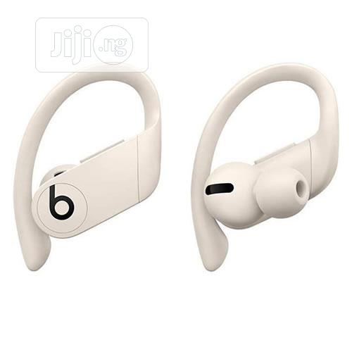 Powerbeats Pro - Ivory | Accessories for Mobile Phones & Tablets for sale in Ikeja, Lagos State, Nigeria