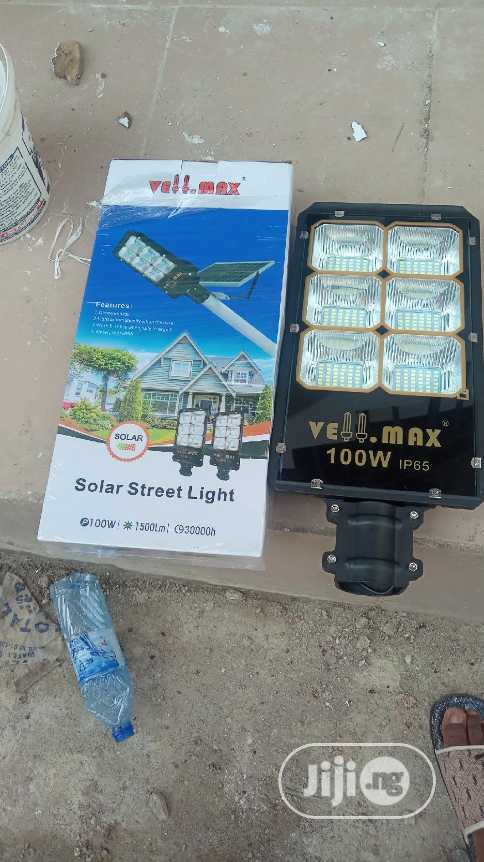 100w Solar Flood Light   Solar Energy for sale in Ojo, Lagos State, Nigeria