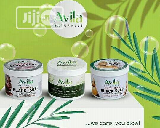 Avila Herbal Black Soap