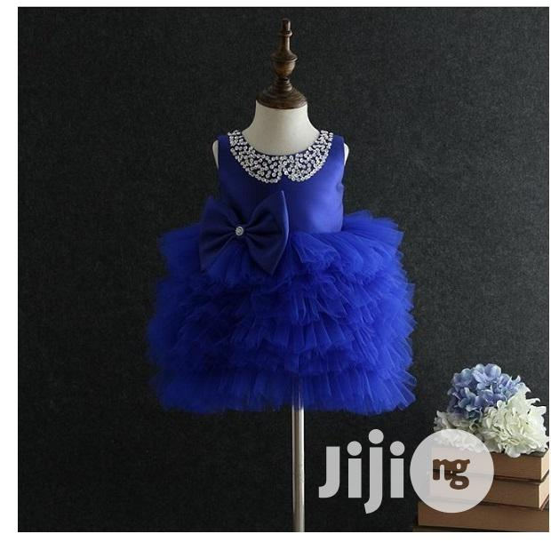 Archive: Girls Cute Blue Ball Gown - 1-4years