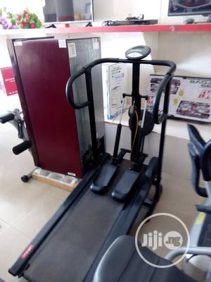 Original American Fitness Manual Treadmill With Stepper | Sports Equipment for sale in Rivers State, Port-Harcourt