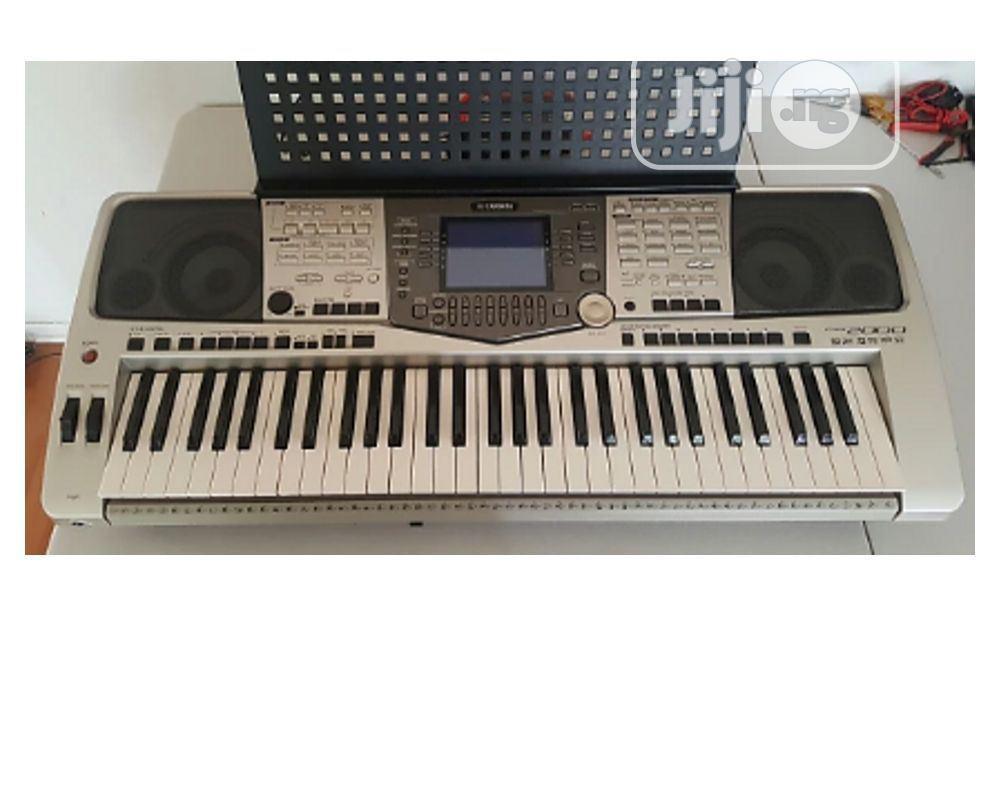 Yamaha Psr A2000 Workstation Keyboard