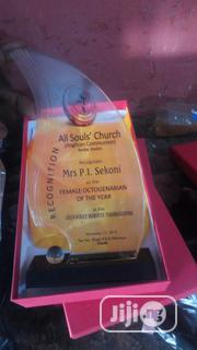 Good Quality Award With Printing   Arts & Crafts for sale in Lagos State, Agboyi/Ketu