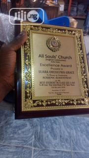 Wooden Plaque Award   Arts & Crafts for sale in Lagos State, Agboyi/Ketu