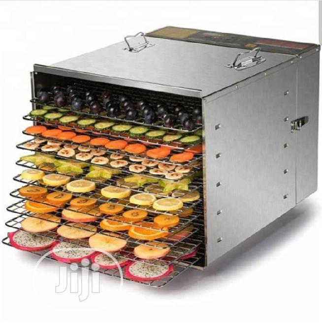 Commercial Food Dehydrator Dryer 10 Trays