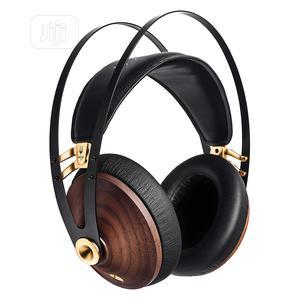 Meze Audio 99 Classics Walnut Headphone - Gold | Headphones for sale in Lagos State, Ikeja