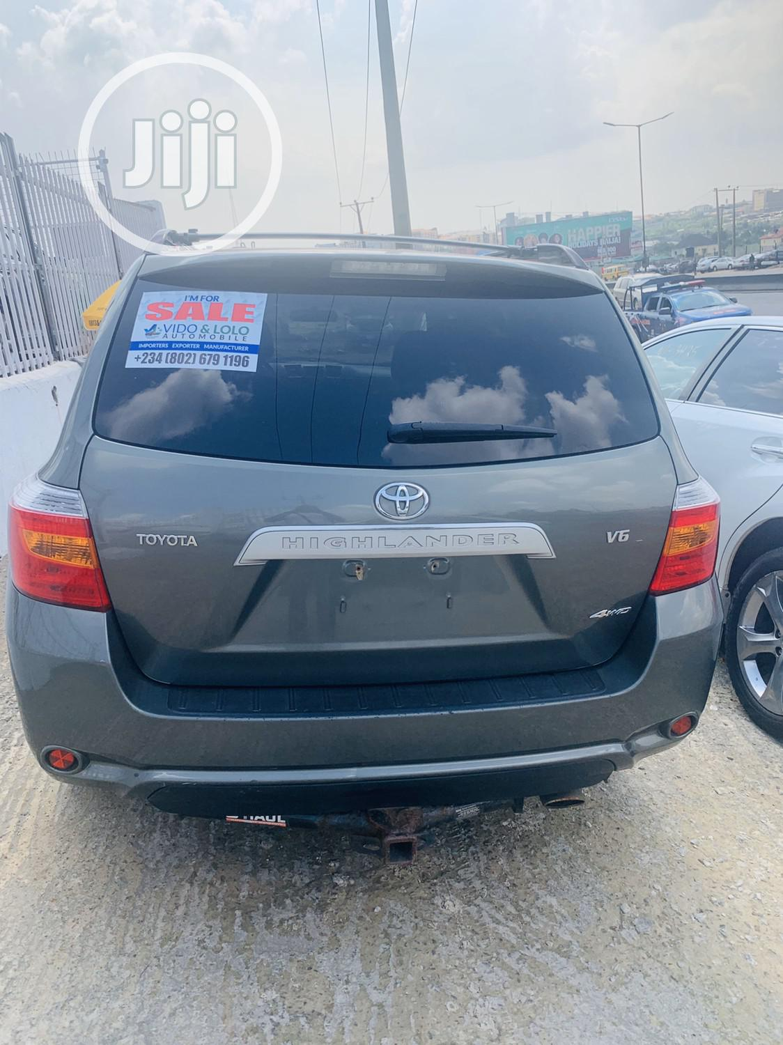Toyota Highlander 2008 Green | Cars for sale in Lagos State, Nigeria
