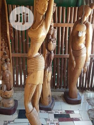Life-size Wood Sculptures   Arts & Crafts for sale in Abuja (FCT) State, Wuse