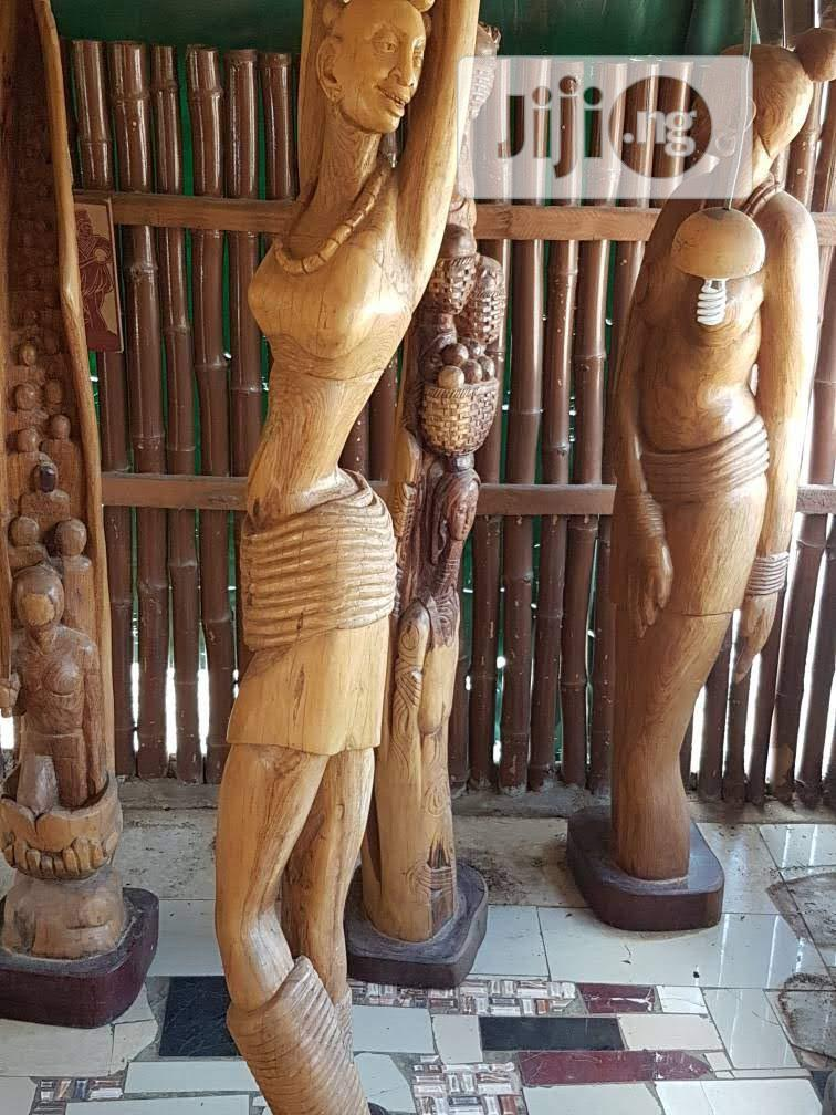 Life-size Wood Sculptures