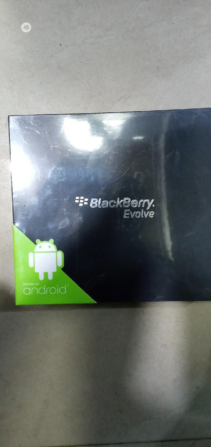 New BlackBerry Evolve 64 GB Black | Mobile Phones for sale in Lekki, Lagos State, Nigeria